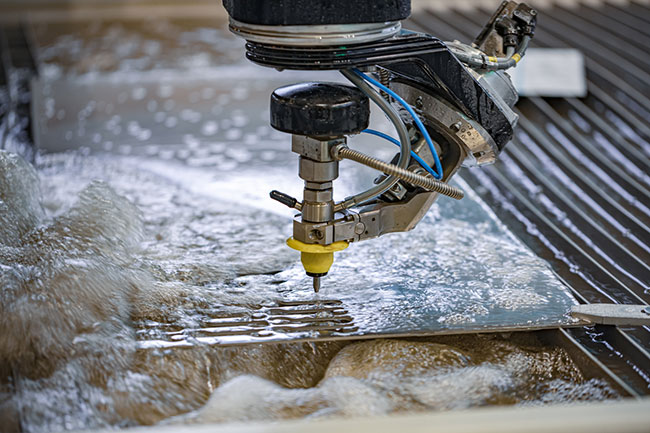 The Superiority of Waterjet Cutting